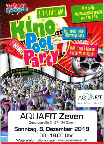 Plakat Kino-Pool-Party 2019